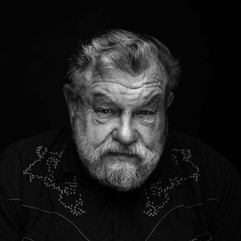 älterer Mann Charakterportrait